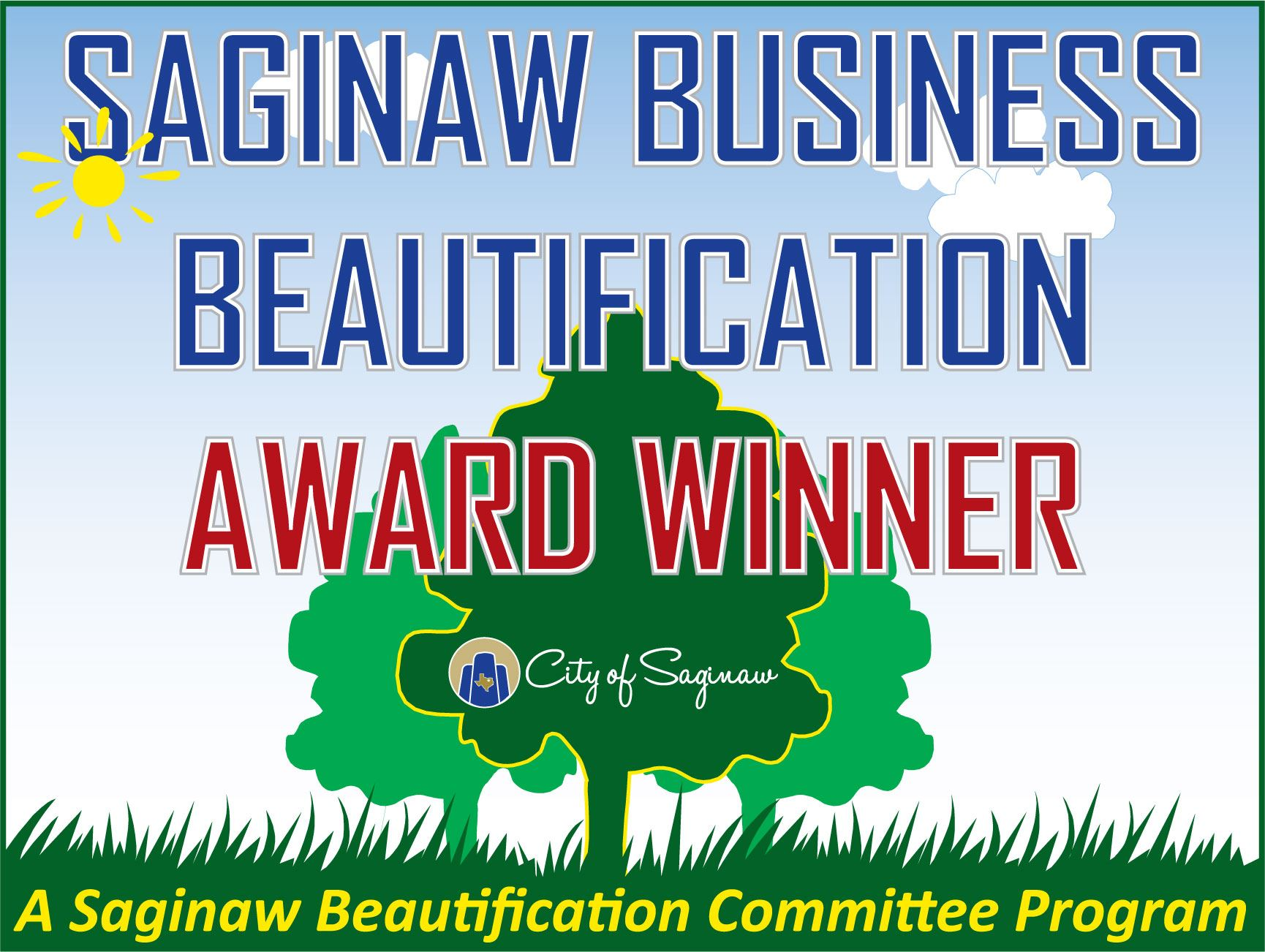Saginaw Business Beautification Award Winner