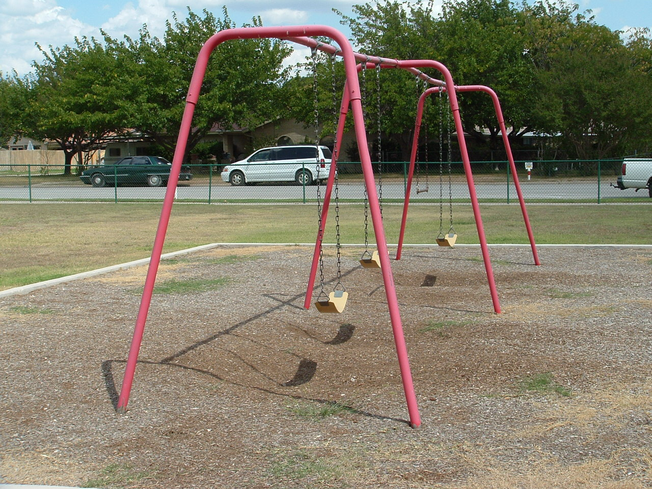 Opal Jo Jennings Memorial Park swing set