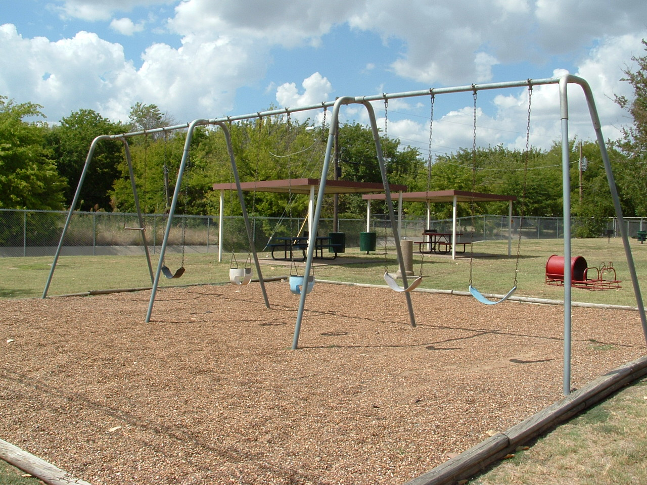 Brian Schwengler Memorial Park swing set