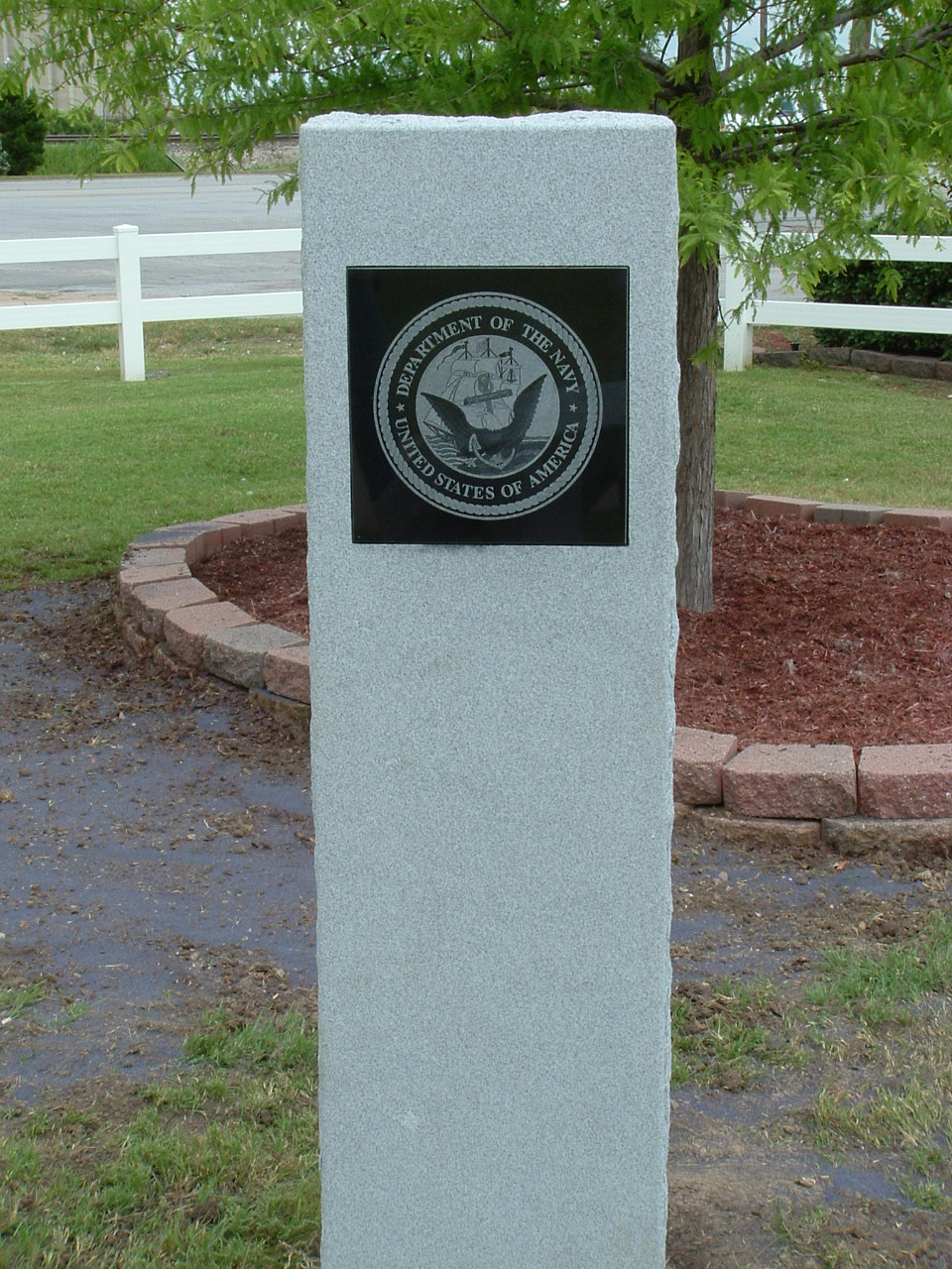 Veteran's Memorial in Kiwanis Park